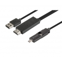 CABLE MICRO USB-HDMI